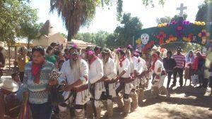Como honran los Yoremes a sus muertos 2017