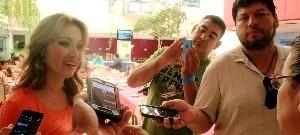 Medios de Comunicación Nacionales de Visita en Mazatlán