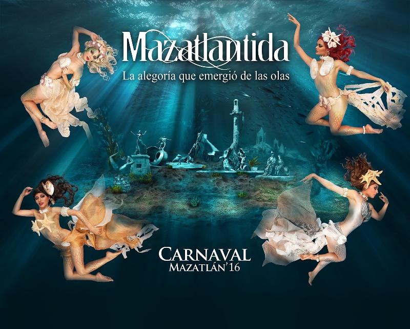 candidatas a reinas del carnaval de Mazatlan 2016
