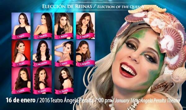 Eleccion Reina del Carnaval de Mazatlán 2016AVAL D EmAZALÁN 2016