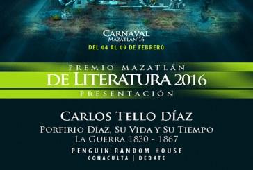 Presentación Premio Mazatlán de Literatura