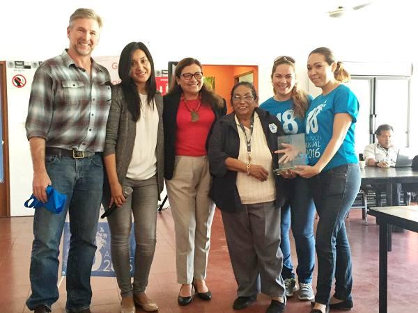 Acuario Recibe Premio Carolina Andrson por el cuidado a la Tortuga Marina 2016