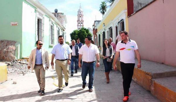 Cosalá Inspección Obras Mejoras Imagen Urbana 2016