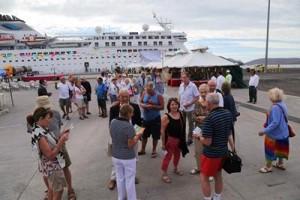 Crucero Voyager llega a Topolobampo 2016