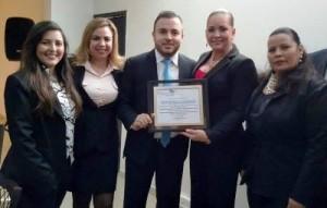 Oscar Tirado Recibe Reconocimiento por su gestión al frente de Canaco Mazatlán