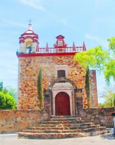 Templo de Guadalupe Cosalá Pueblo Mágico