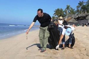 Jornada Playas Limpias Mazatlán-Maviri-Sectur Semana Santa 2016