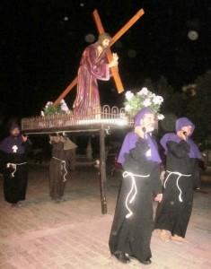 Procesión del Silencia San Ignacio de Loyola Sinaloa