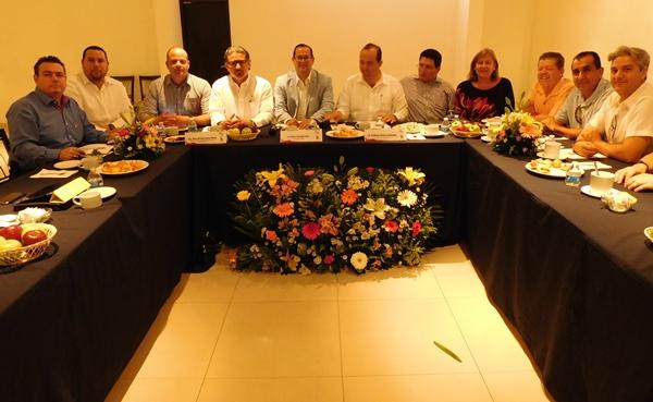 eunión Mazatlán, Sector Turismo, Fecanaco Sectur Sinaloa Mayo 2016