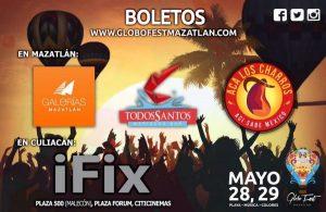 Globo Fest Mazatlán 2016