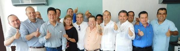 Toma Protesta Marcos Osuna Delegado Canaco Srvytur Mazatlán 2016