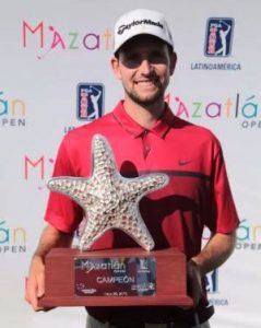 Campeon 2016 Mazatlan Open Tour PGA Latinoamérica
