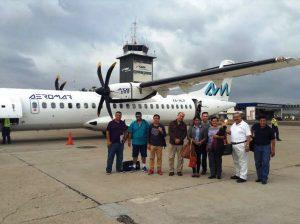 Fam Trip Mazatlán uadalajara Puebla pro Aeromar 2016