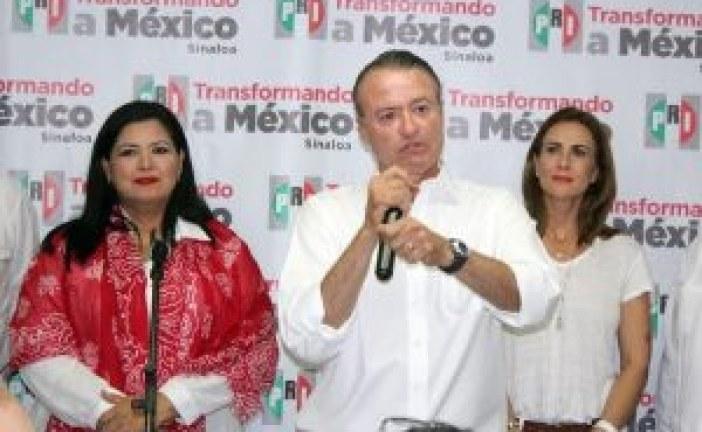 PRI recupera gubernatura; todos somos Sinaloa: Quirino