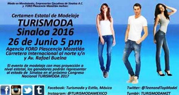Turismoda Mazatlán 2016 Invitación