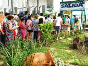 Acuario Mazatlán, se consolida como uno de los lugares preferidos por los turistas que visitan el puerto de Mazatlán, con una afluencia de 750 personas por hora,  en horario  pico de asistencia. (de 11 a.m a 2:00 p.m).