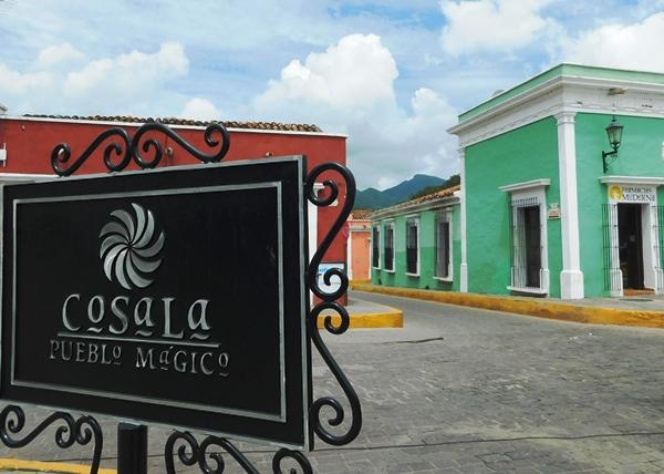 El Pueblo Mágico de Cosalá recibe obras turísticas