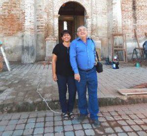 Héctor y Sandra en Imala