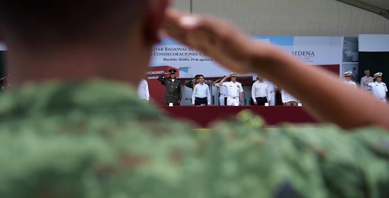 Peña Nieto Inauguración Hosiptal Militar Mazatlán 2016-11