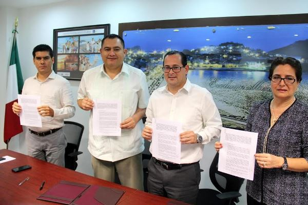 Sectur Sinaloa y Conalep Firman Convenio 2016