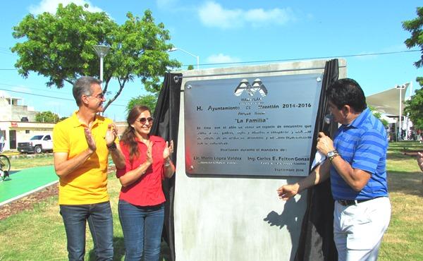 Inauguracción Sección Familia Parque Lineal Mazatlán 2016