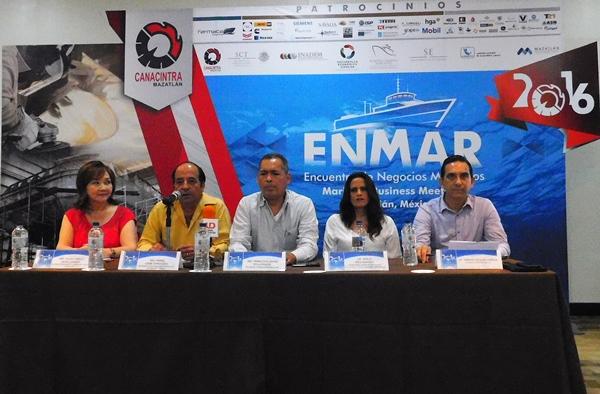Enmar Mazatlán 2016 Rueda de Prensa