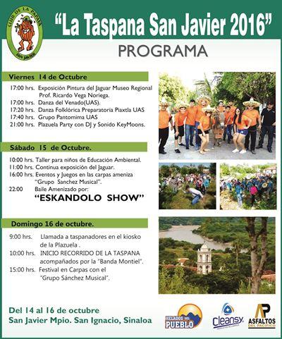 Invitación a La Taspana 2016