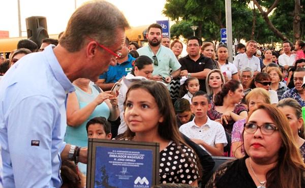 Reconocimiento a Embajadores de Mazatlán 2016
