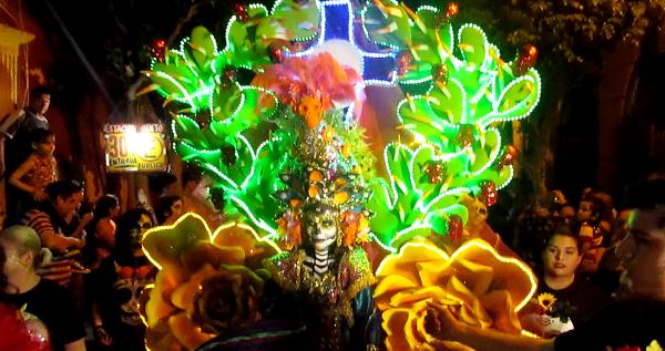 Callejoneada de Muertos Mazatlán 2016