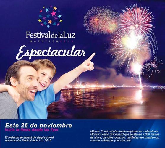 Festival de la Luz Mazatlán 2016