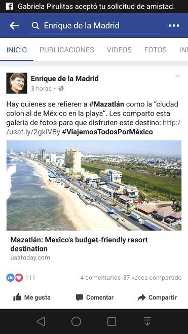 Mazatlan in The USA TODAY 2016