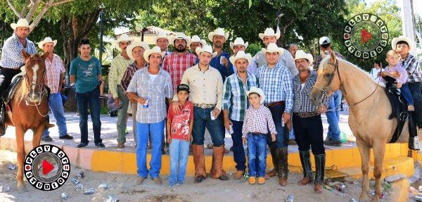 Invitación Cabalgata Navidea en El Roble Sinaloa 2016