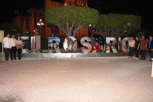 Inauguración Parador Turístico El ROsario Pueblo Máico 2016
