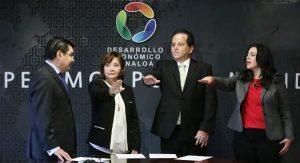 Javier Lizárraga Mercado SEDECO Nombrando Gabinete 2017