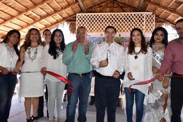 Primera Feria del Ostión Celestino Gasca Elota Sinaloa 2017