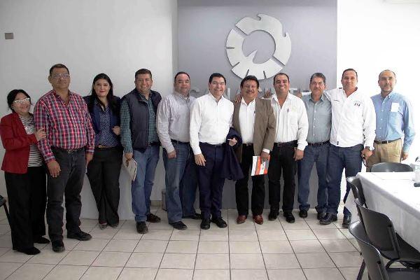 Javier Lizárraga Mercado Sedeco Reunión Guasave Ene 2017