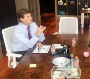 Enrique de la Madrid Cordero visita Mazatlán Enero de 2017