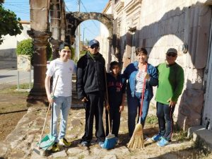 Los Arcos Virreinales de El Rosario Pueblo Mágico Ahora Lucen Limpios 2017