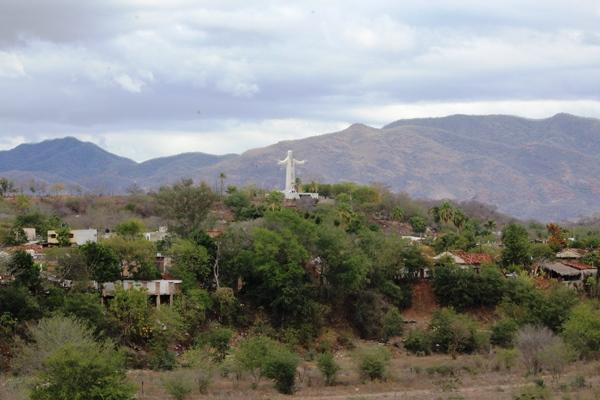 Avanzan trabajos de restauración del Cristo de la Mesa 2017