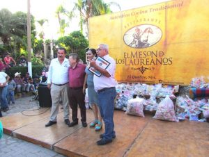 Distintivo Persona Turísticamente Responsable Marcos Osuna Distintivo 2017