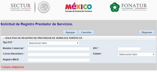 Registro RNT 2017
