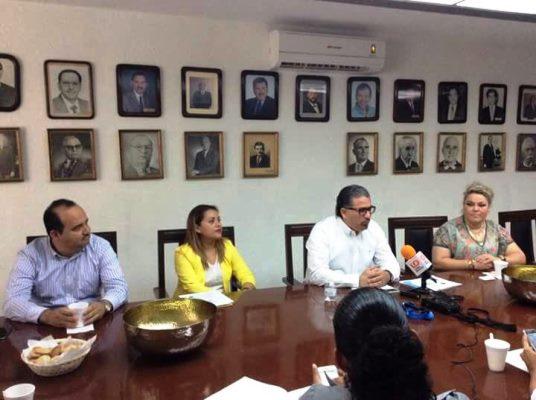 Rueda de Prensa de Canaco Servitur Sur Sinaloa