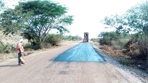 Carretera Chilillos-Matatán reencarpetado 2017