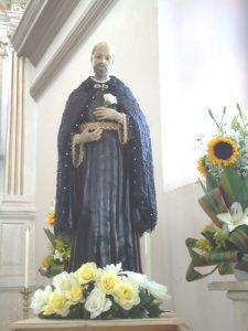 Imagen de San Ignacio de Loyola en El Templo del Pueblo Señorial