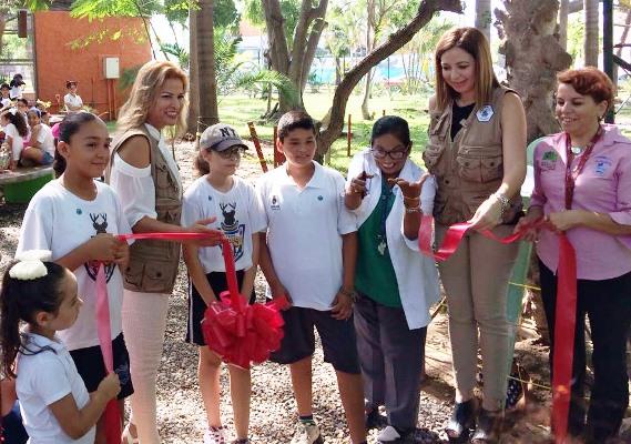 Se inauguró zona de descanso 'El Huanacaxtle'