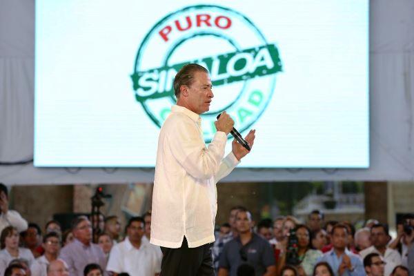 """Presenta Quirino Ordaz la marca """"Calidad Puro Sinaloa"""""""