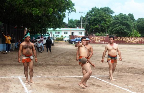 Juego del Ulama en El Quelite Zona Trópico, Mazatlán 2017
