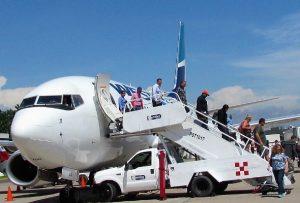 Vuelo Inaugural Temporada 2017-2017 WeztJet Airlines