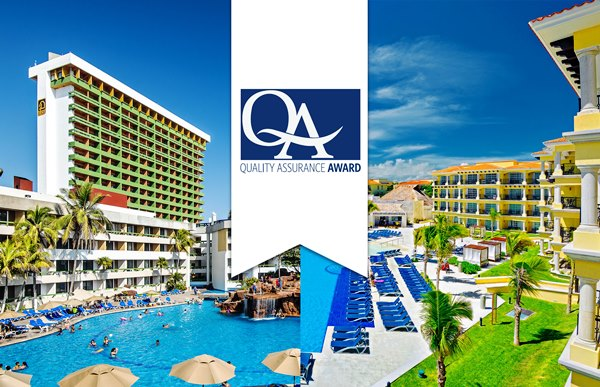 El Cid Resorts RRecibe Premio Quality Assurance Award