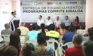 Entregan financiamiento del programa Compite Emprendedor y Compite Productivo